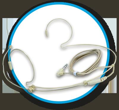 Skin-Coloured Headset Microphone (SC9630)